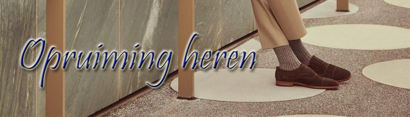 Banner Opruiming Heren